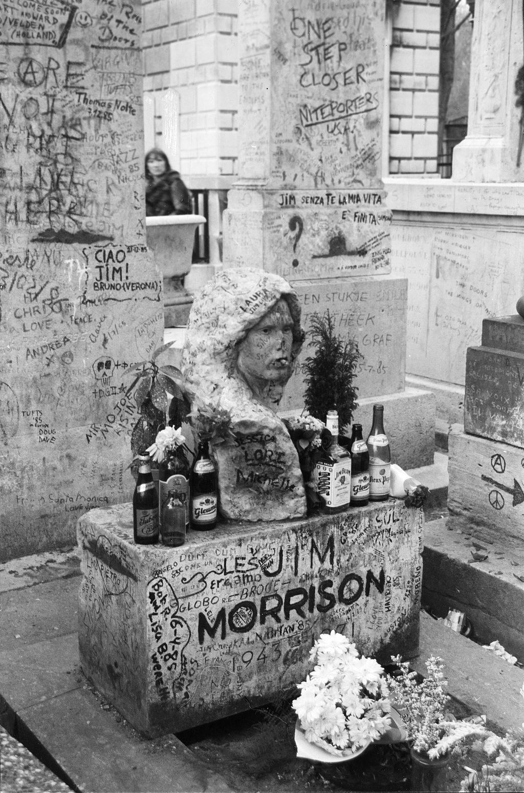 La Tumba De Jim Morrison Y Sus Secretos Rock Legends México